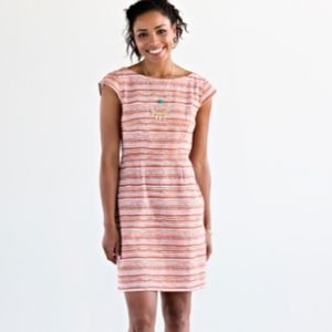 NWT Mata Traders Mod Motion Dress in Burnt Orange